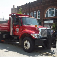 Lakeview DPW Truck